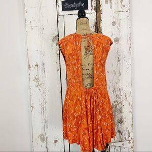 Free People Dresses - Free people fake love animal print crepe dress